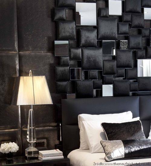 Ściana nad łóżkiem