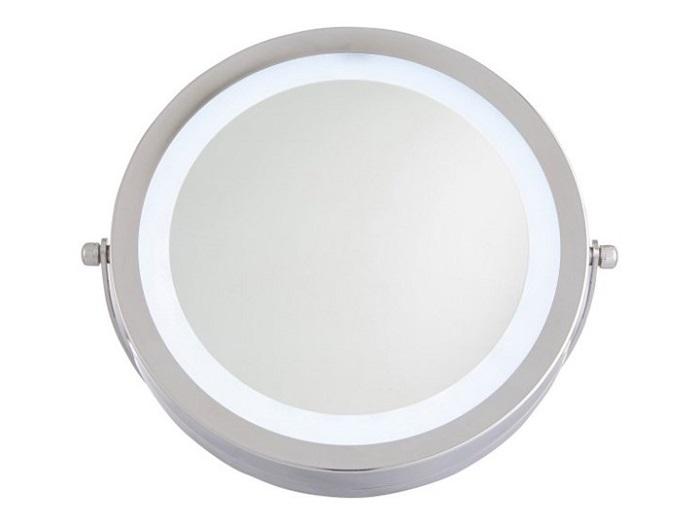 okrągłe lusterko LED