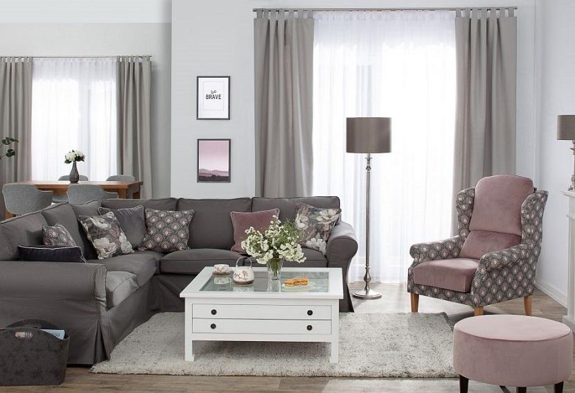 Pokrowiec na sofę do nowoczesnego salonu