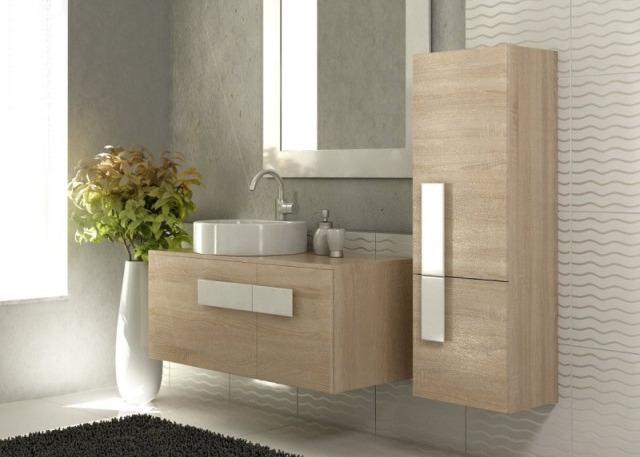 meble z drewna do łazienki