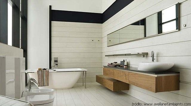 łazienka w panelach