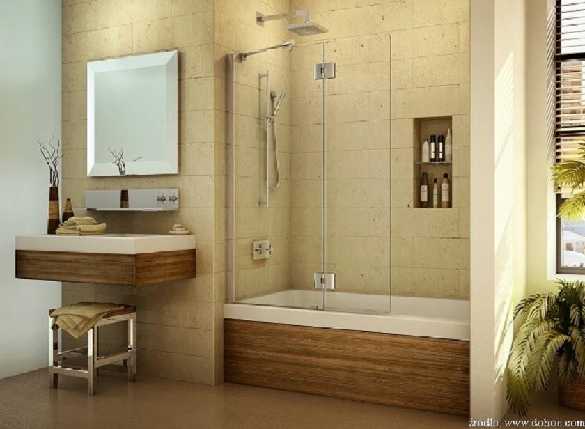 Wanna z prysznicem