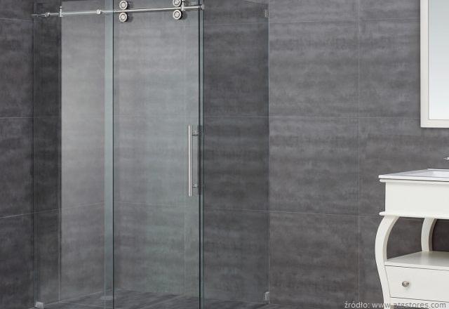 łazienka prysznic bez brodzika