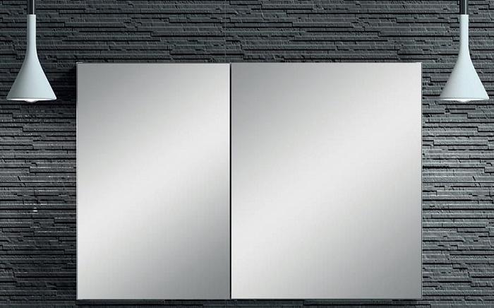 szafka wisząca z lustrem