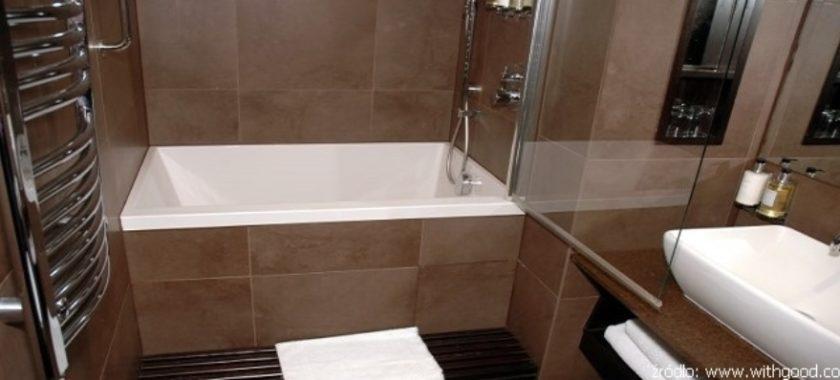 Mała łazienka Z Wanną Wirtualne Wnętrza