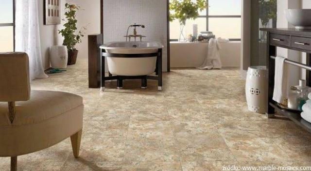 kamienna podłoga