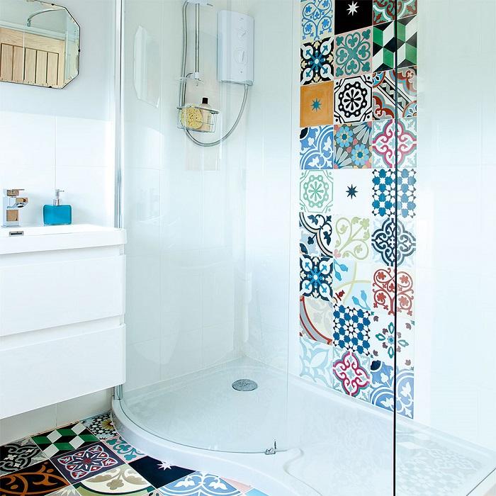 płytki patchworkowe do łazienki