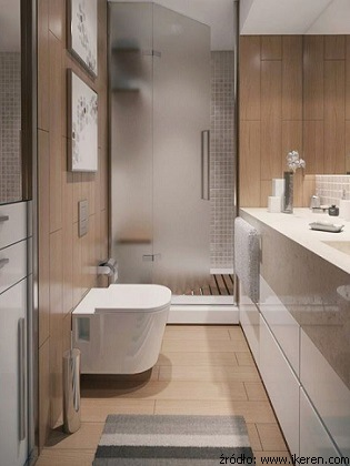 Wąska łazienka Jak Poprawić Jej Proporcje Wirtualne Wnętrza